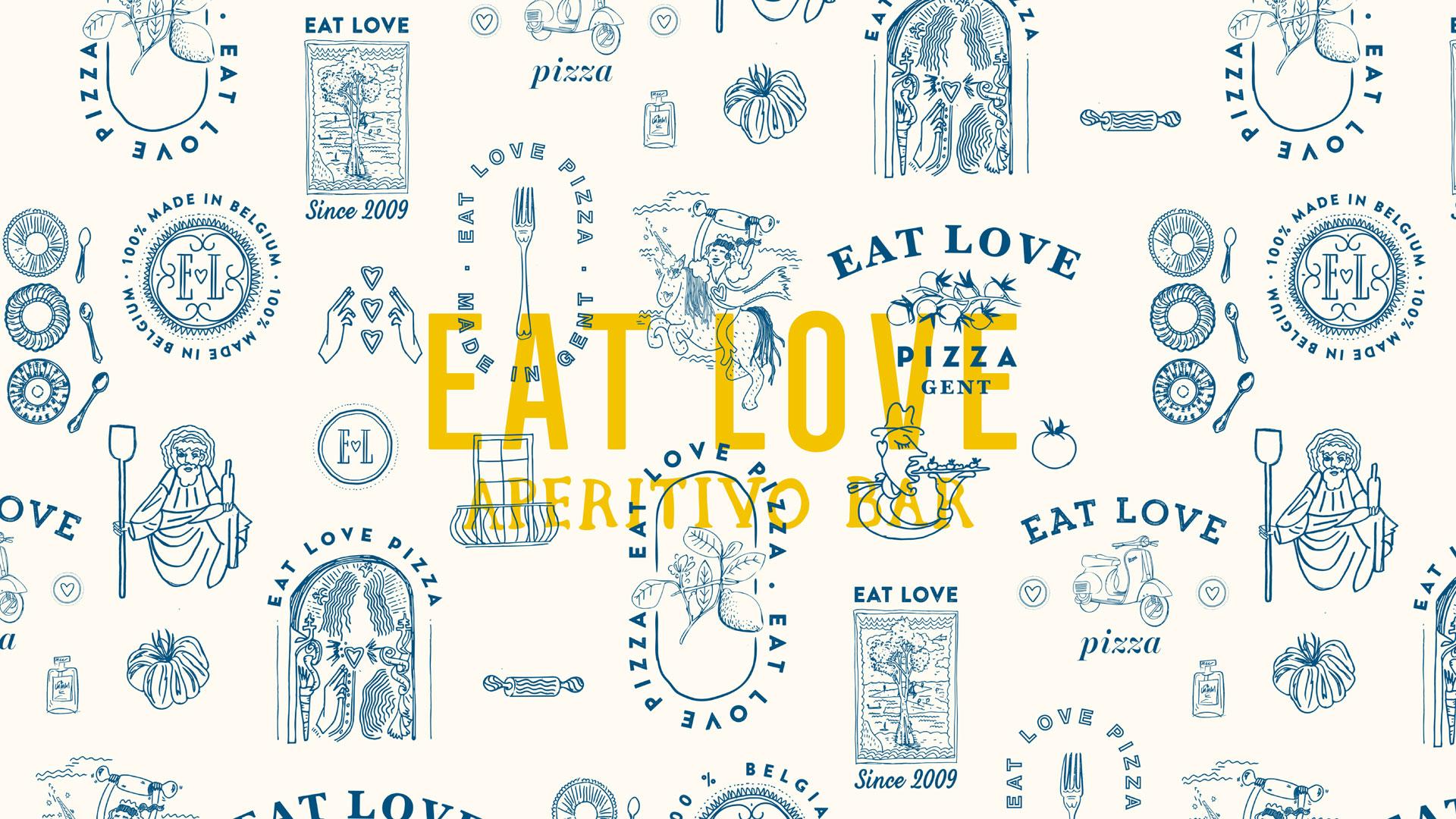 Eat Love Aperitivo Patroon