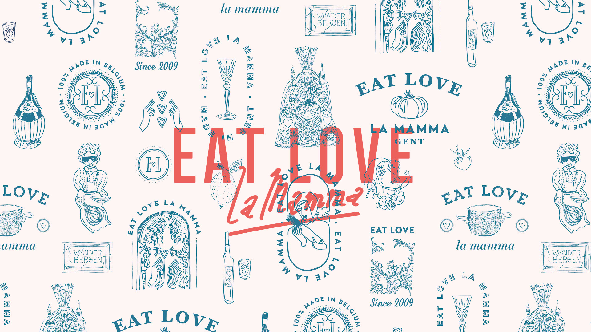 Eat Love La Mamma Patroon
